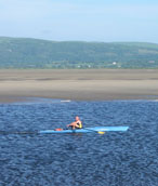 Rowing on the estuary